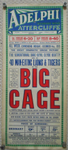 Big Cage UK film poster, Clyde Beatty, Anita Page, 1933